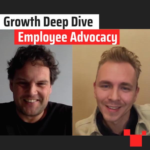 Employee Advocacy met Koen Jordaans - Growth Deep Dive #10 met Jordi Bron