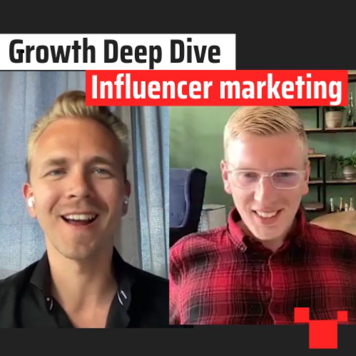 Influencer marketing met Gertjan Polet - #23 Growth Deep Dive Podcast