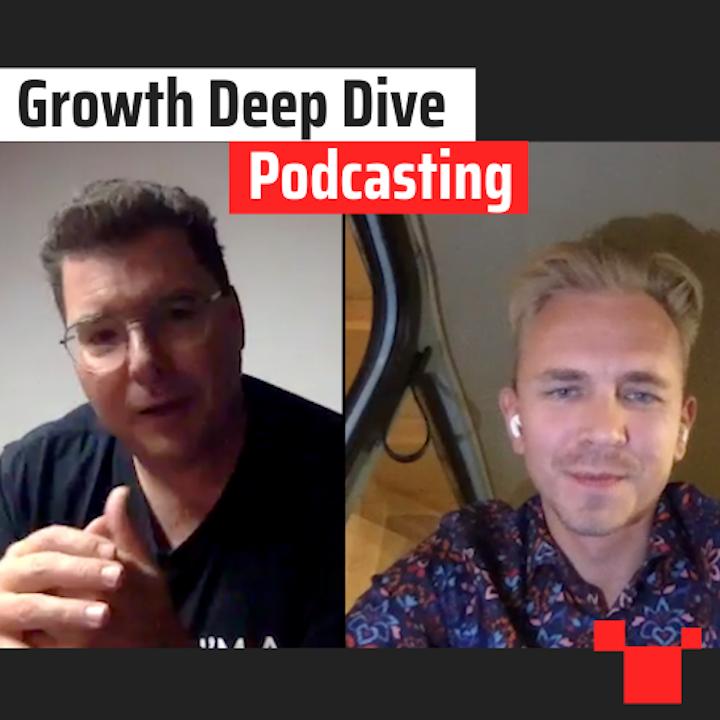 Podcasting met Elias Crum - Growth Deep Dive #3 met Jordi Bron