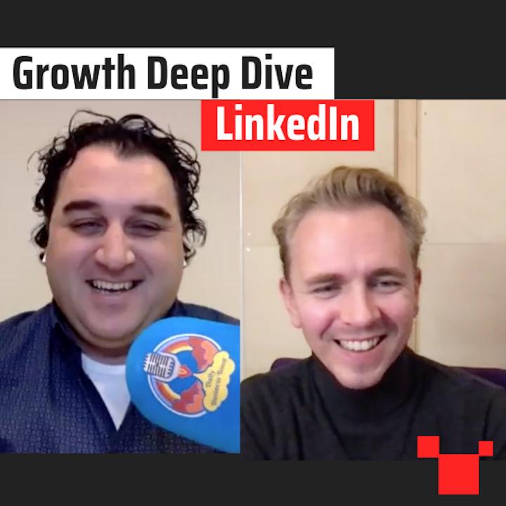 LinkedIn met Aramik Garabidian - Growth Deep Dive #7 met Jordi Bron
