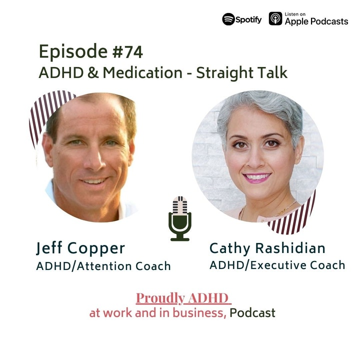 #74 ADHD and Medication | Guest Jeff Copper