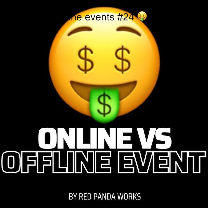 Online vs offline events #24 🤑  Sales Podcast