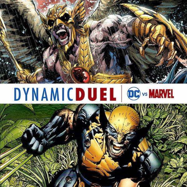 Hawkman vs Wolverine Image