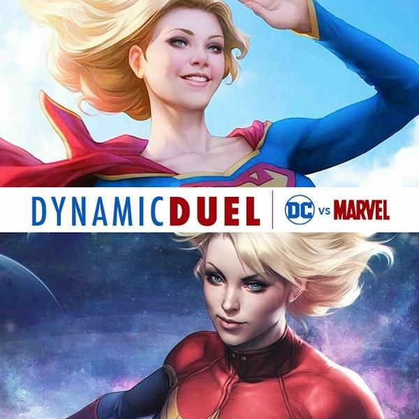 Supergirl vs Captain Marvel Image