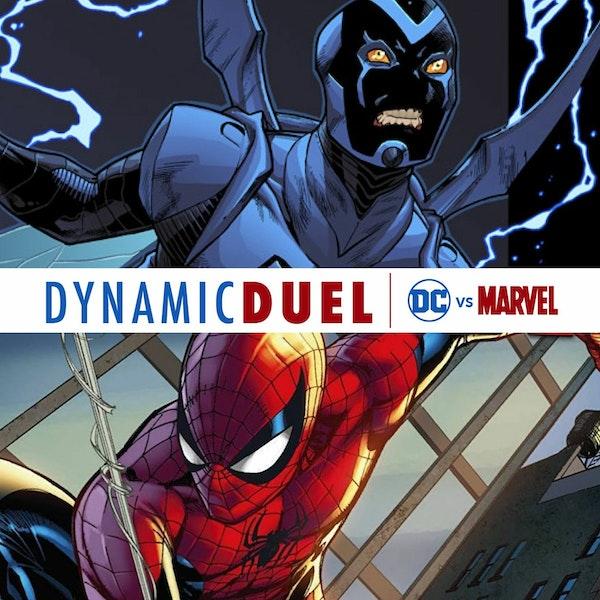 Blue Beetle vs Spider-Man Image