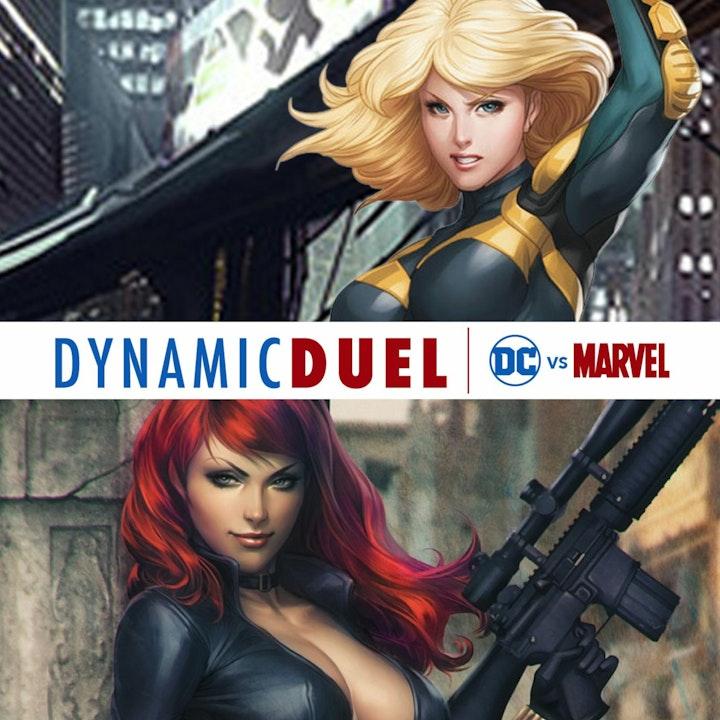 Black Canary vs Black Widow