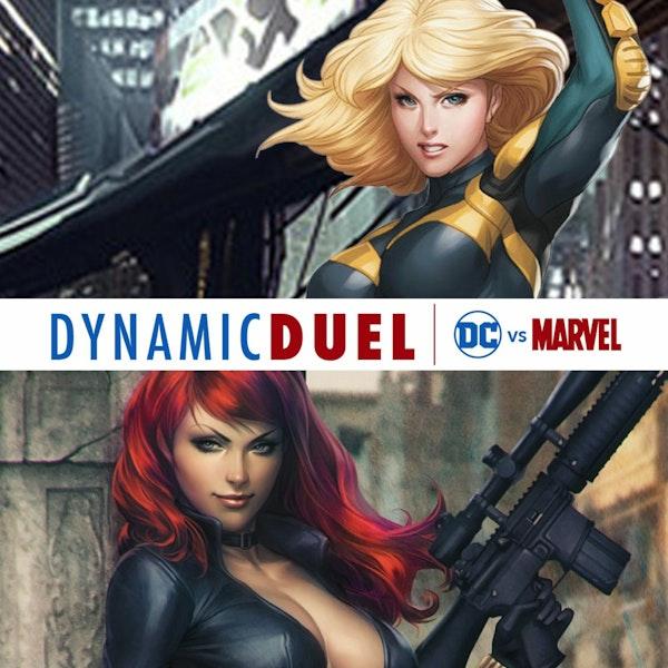 Black Canary vs Black Widow Image
