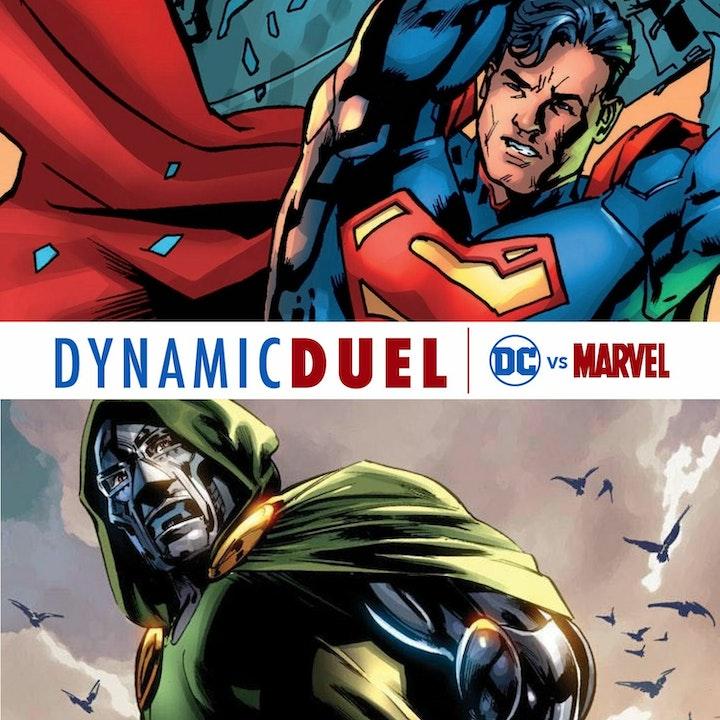 Superman vs Doctor Doom