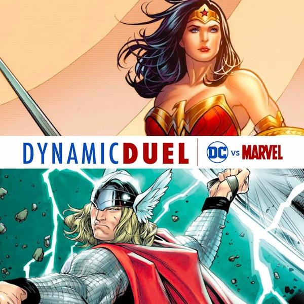Wonder Woman vs Thor Image