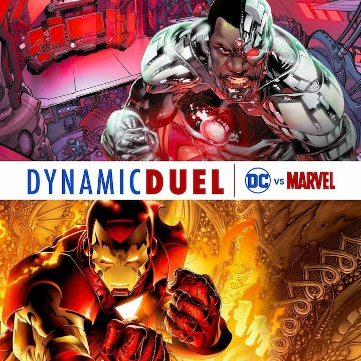 Cyborg vs Iron Man