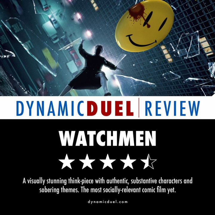 Watchmen Review – Special Guest Andrew Arkis