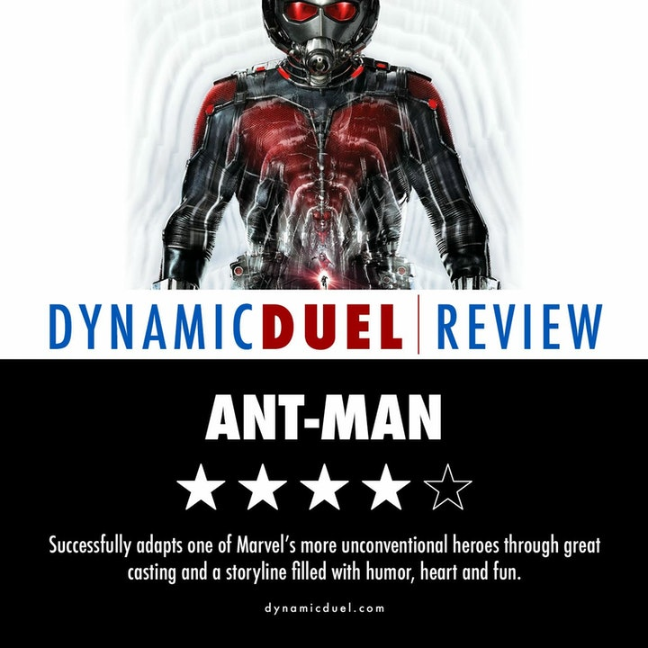 Ant-Man Review – Special Guest Adam Speas
