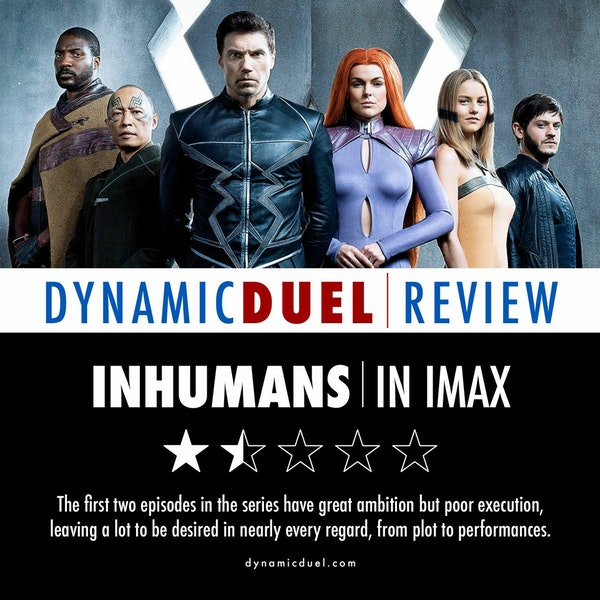 Inhumans in IMAX Review Image