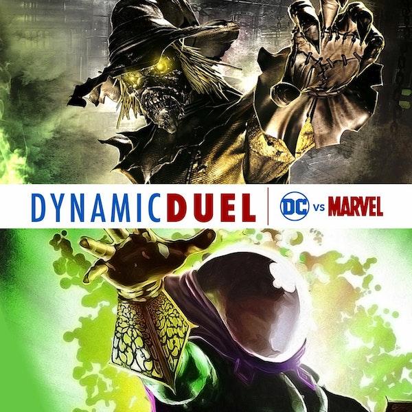 Scarecrow vs Mysterio Image