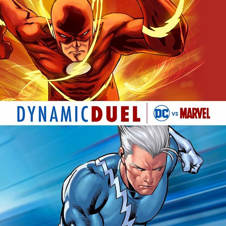 Flash (Barry Allen) vs Quicksilver