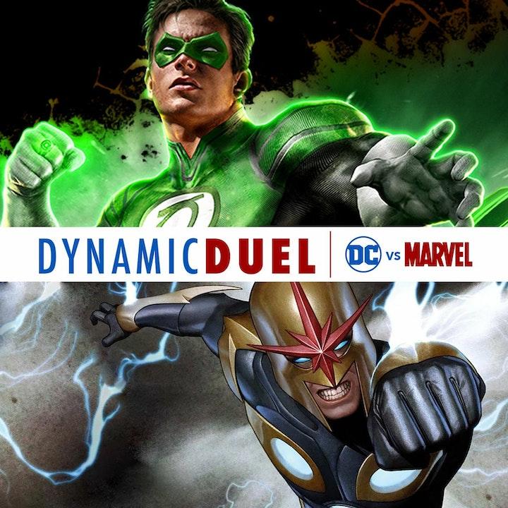 Green Lantern vs Nova