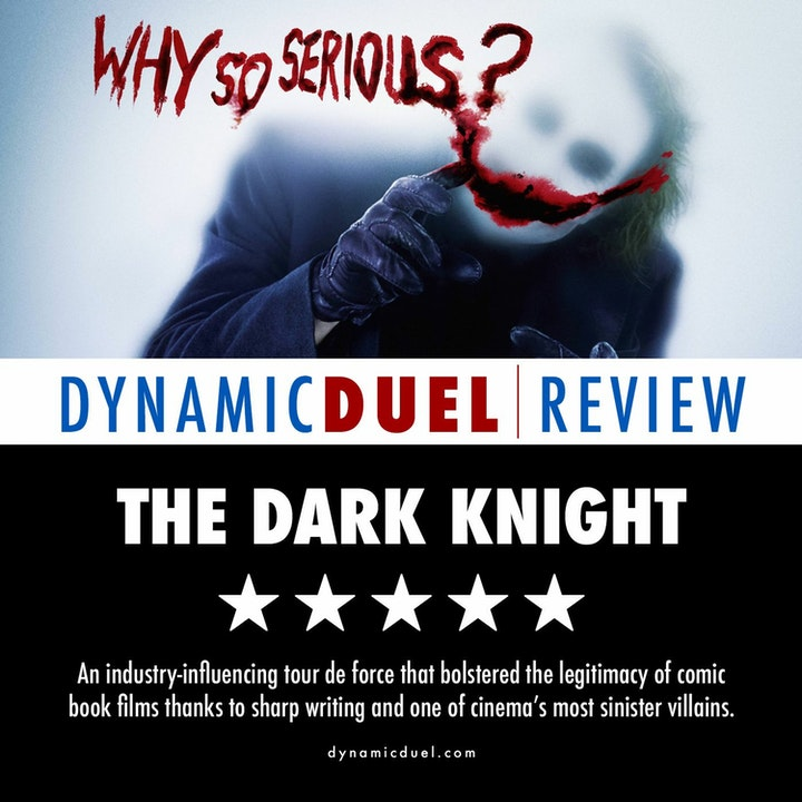 The Dark Knight Review - Special Guest Craig Ormiston