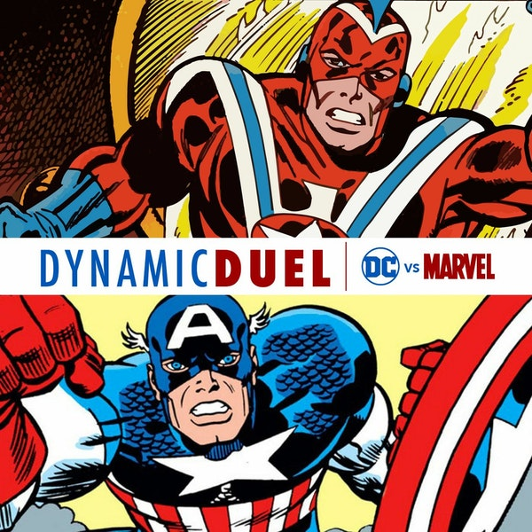Commander Steel vs Captain America Image