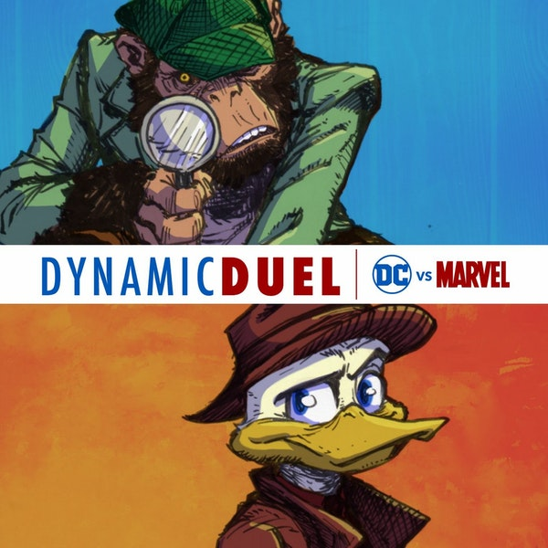 Detective Chimp vs Howard the Duck Image