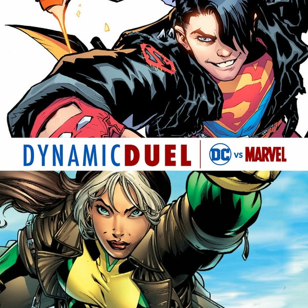 Superboy vs Rogue Image