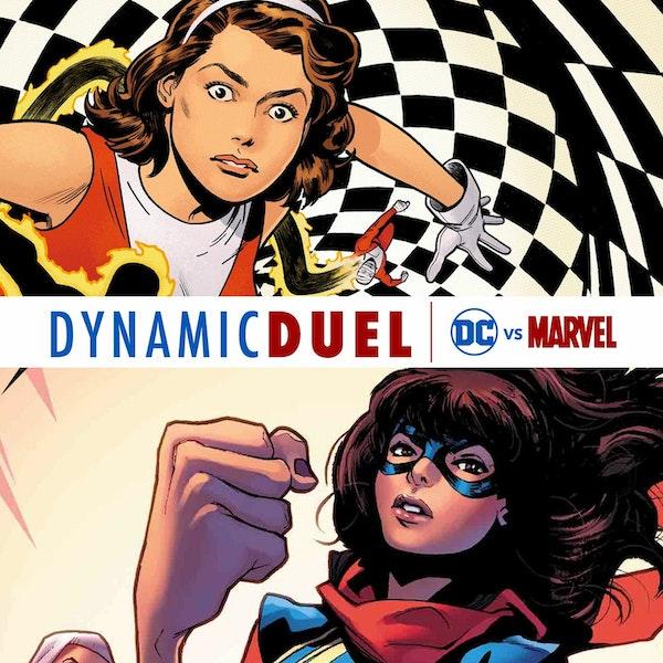 Elasti-Girl vs Ms. Marvel Image