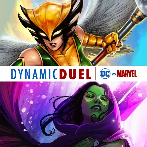 Hawkgirl vs Gamora Image