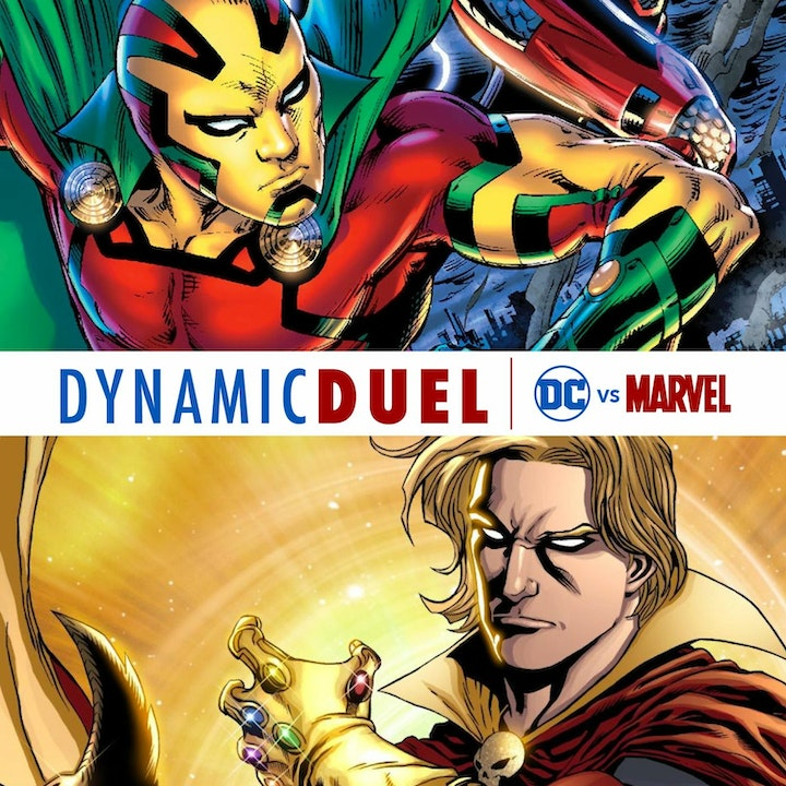 Mister Miracle vs Adam Warlock