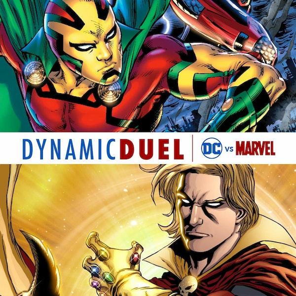 Mister Miracle vs Adam Warlock Image