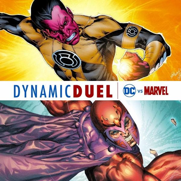 Sinestro vs Magneto Image
