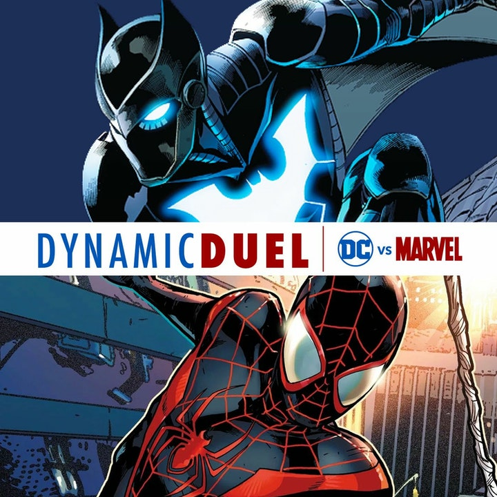 Batwing vs Ultimate Spider-Man