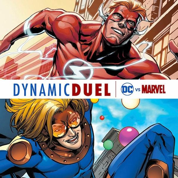 Flash (Wally West) vs Speedball Image