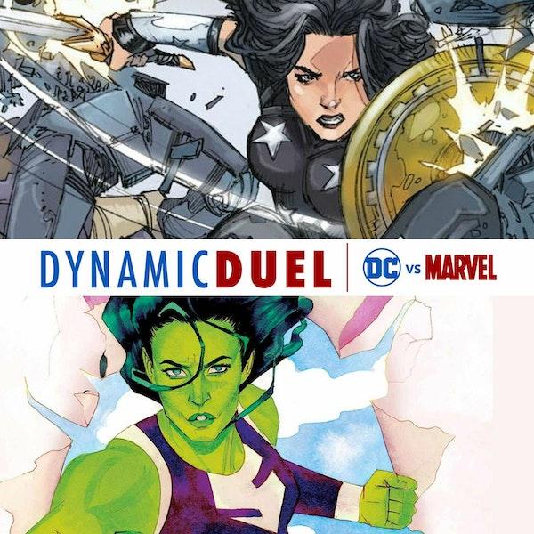 Donna Troy vs She-Hulk Image