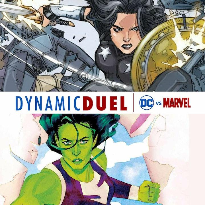 Donna Troy vs She-Hulk