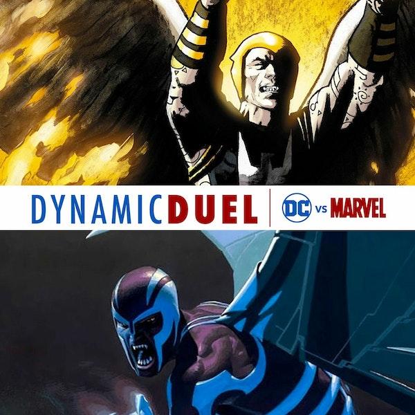 Zauriel vs Archangel Image