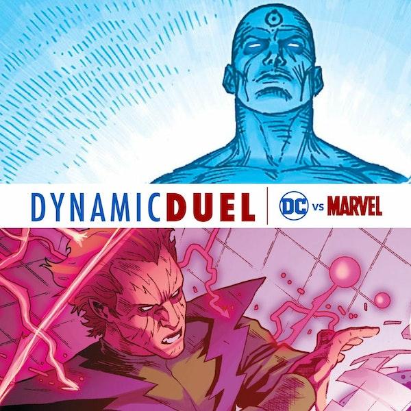 Doctor Manhattan vs Molecule Man Image