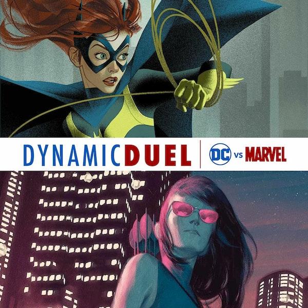 Batgirl (Barbara Gordon) vs Hawkeye (Kate Bishop) Image