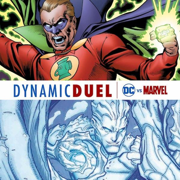 Green Lantern (Alan Scott) vs Iceman Image