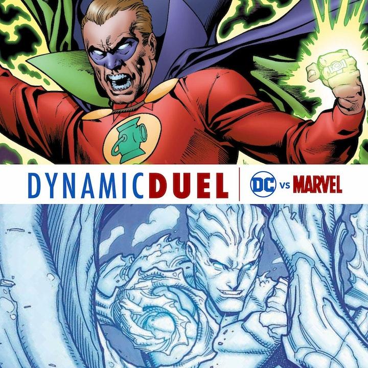 Green Lantern (Alan Scott) vs Iceman