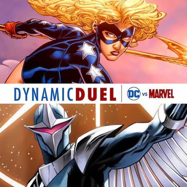 Stargirl vs Darkhawk Image
