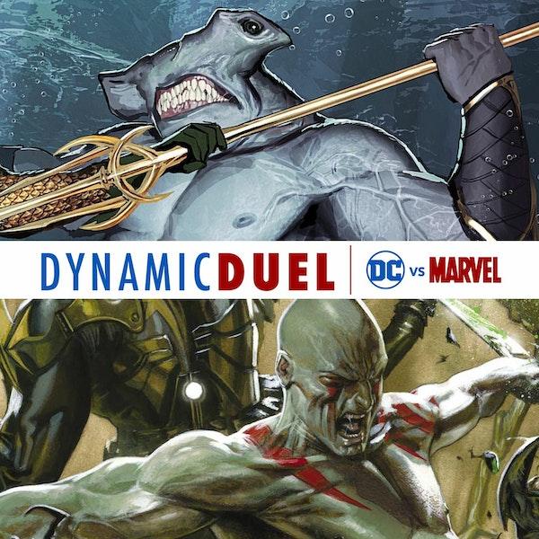 King Shark vs Drax Image
