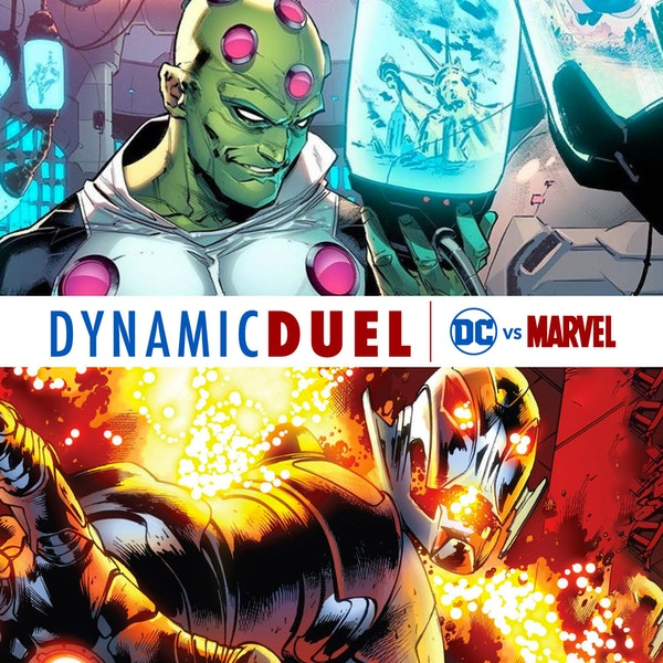 Brainiac vs Ultron Image
