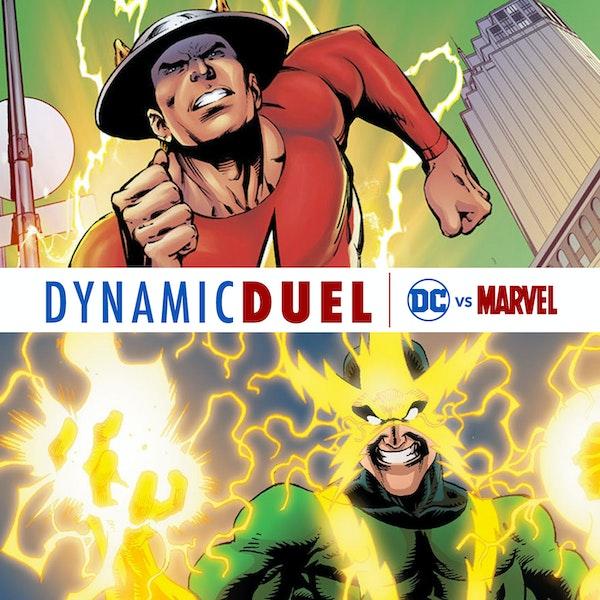 Flash (Jay Garrick) vs Electro Image
