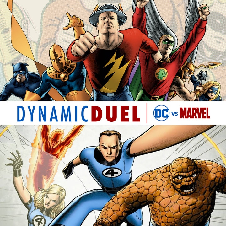 EPISODE 200: JSA vs Fantastic Four