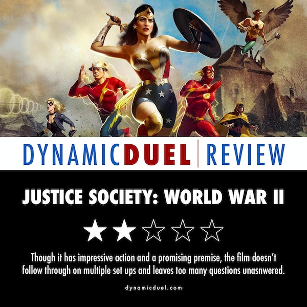 Justice Society: World War II Review Image