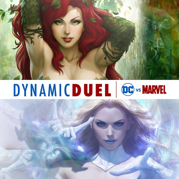 Poison Ivy vs White Queen (Emma Frost) Image