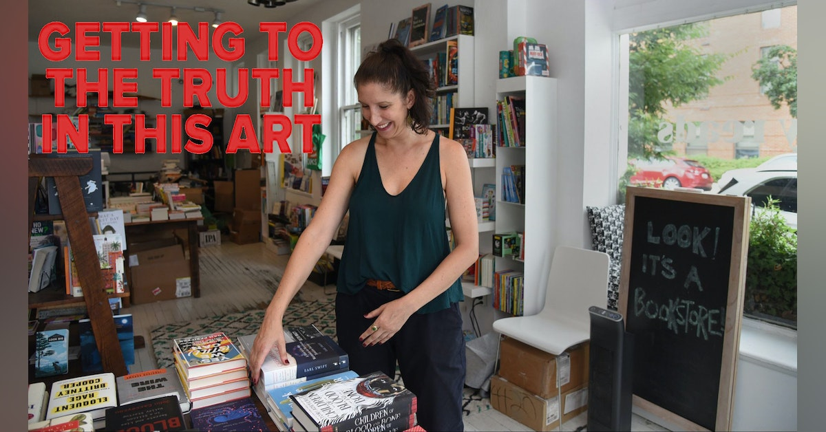 Getting the Truth in this Art with Julia Fleischaker from Greedy Reads