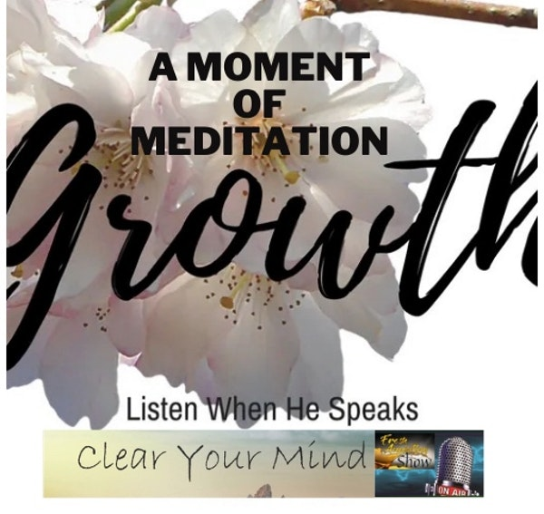 A Moment of Meditation Image