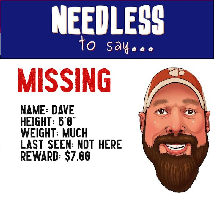 Dave is MISSING!