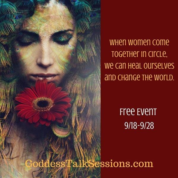 Reclaim Your Feminine Voice - Linda Joy interviews Shann about the 3rd Annual Goddess Talk Sessions