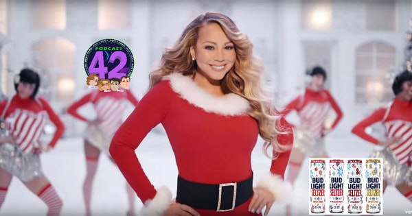 A Very Merry Mariah Carey Pandemic Christmas Image
